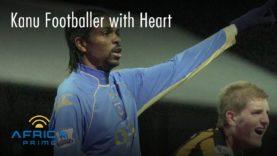 kanu footballer with heart