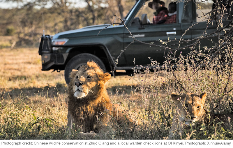 Masaai Farmers offer Kenya Wildlife Consrevationists a Lifeline.