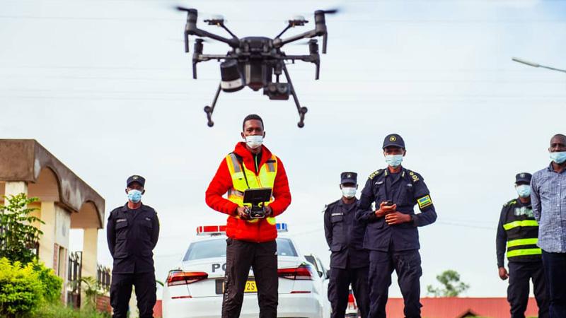 Drones Rwanda