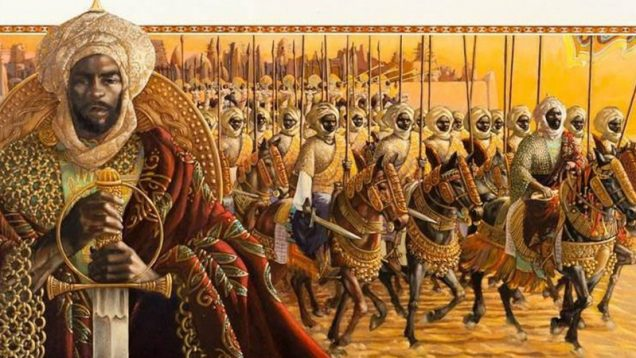 Africa prime Mansa Musa of Mali