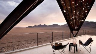 Africa Prime Luxury Lodges of the Namibia's desertscape