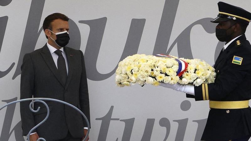 Macron asks Rwanda to forgive France
